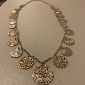 Charming Charlie Coin Necklace